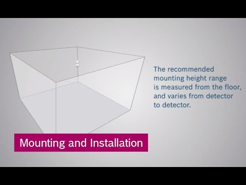hqdefault bosch intrusion detectors mounting and installation youtube  at mr168.co