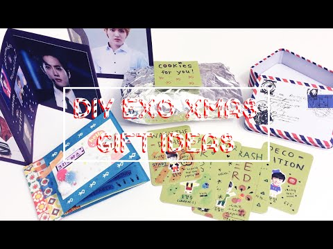[ DIY ] EXO + Kpop Christmas Gift Ideas ✽ ✽ ✽