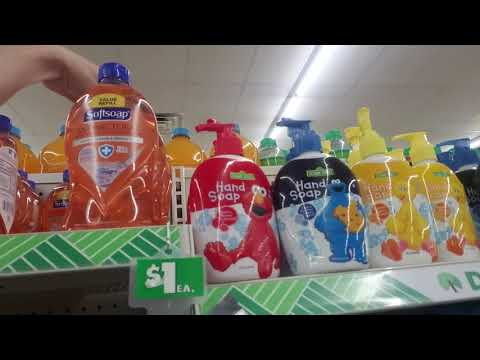 🚿 Dollar Tree Bar & Liquid Soap Organization 🚿