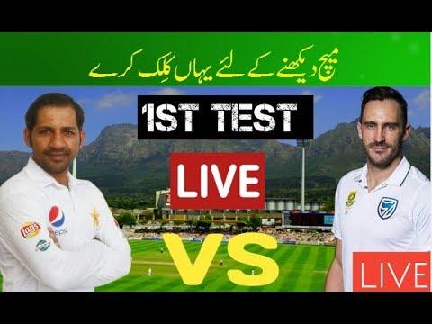 Pak Vs Sa 1st Test 2018 Live Streaming South Africa Vs ...