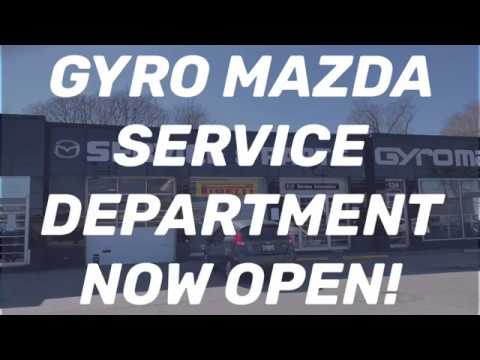 Service and Parts has Reopened!