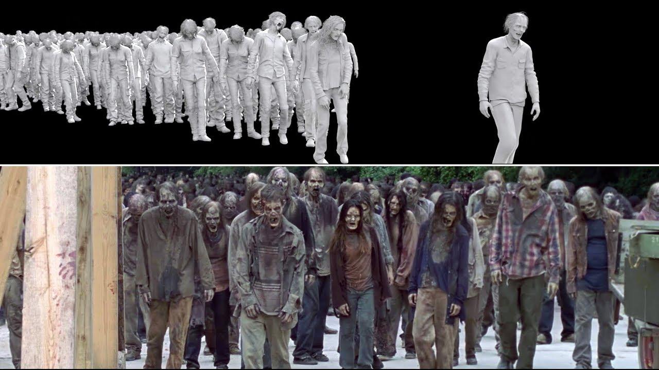 The Walking Dead: Season 9 - VFX Breakdown by Goodbye Kansas Studios - YouTube
