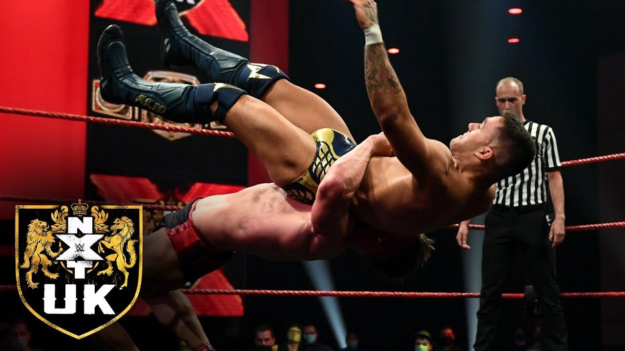 Ilja Dragunov battles A-Kid in an NXT UK Title Match: NXT UK highlights, Oct. 14, 2021