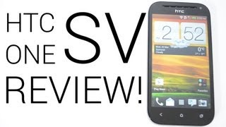 HTC One SV Review