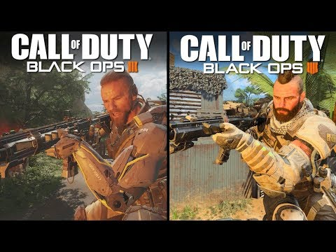 Call of Duty: Black Ops 4 vs Black Ops 3