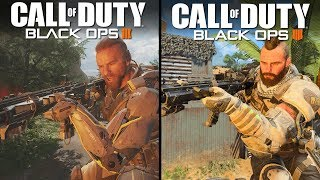 Call of Duty: Black Ops 4 vs Black Ops 3 | Direct Comparison