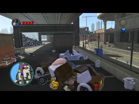 LEGO Marvel Super Heroes - Open World Free Roam - Slums Area (Gold Brick/Tokens/Missions)