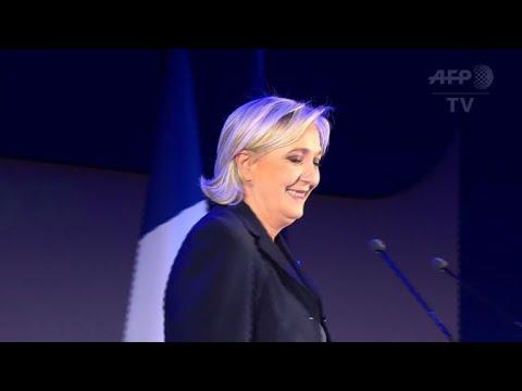 Marine Le Pen réélue à la tête du FN