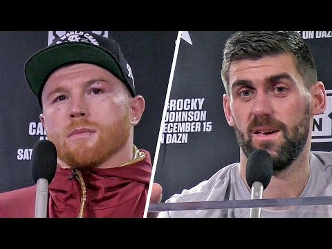 Canelo Álvarez & Rocky Fielding POST FIGHT PRESS CONFERENCE (Both Fighters)