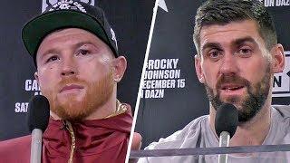 Canelo Álvarez & Rocky Fielding POST FIGHT PRESS CONFERENCE (Both Fighters)