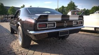 American V8 Muscle Cars - Sights and Sounds! VOL.1