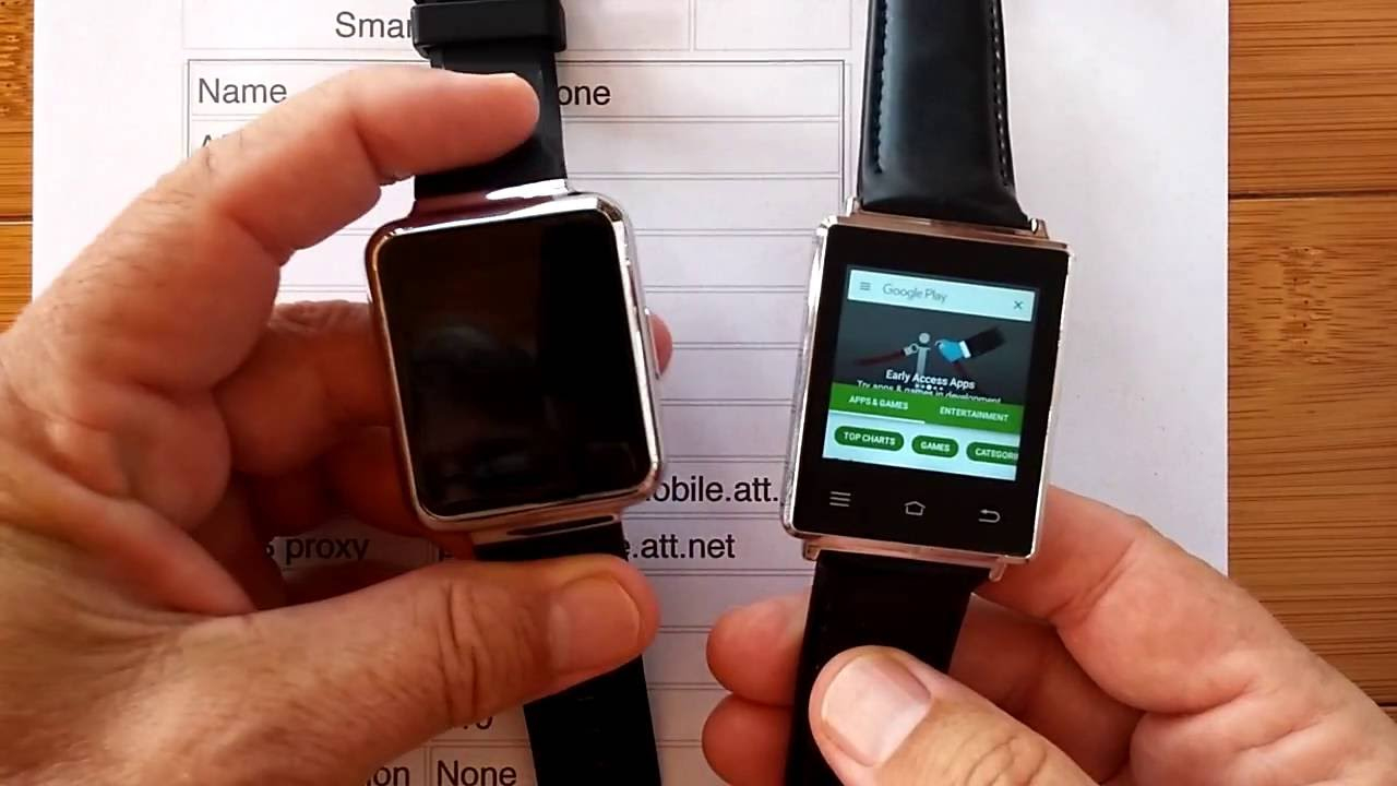 Guide On How To Setup Your Smartwatch With Keepgo Smartwatch Sim Card