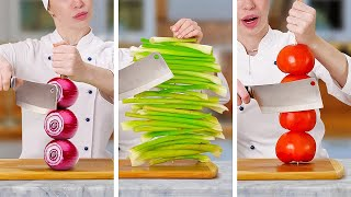 SMART HACKS WITH FRЏITS & VEGGIES || How To Cut And Peel Fruits Like a Pro
