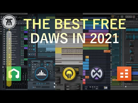 Best Free DAWs [Free Software To Make Music] (2020)