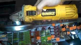 Угловая шлифмашина DeWalt DWE4051. Обзор инструмента