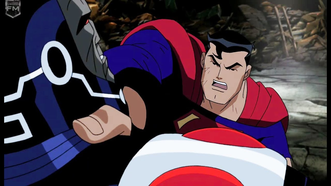 Image result for justice league unlimited superman vs darkseid