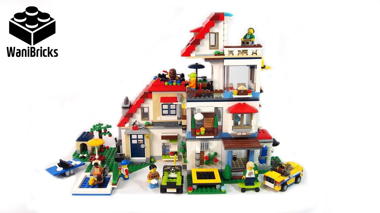 lego creator 31069 + 31068 + 31067 modular house super build - lego