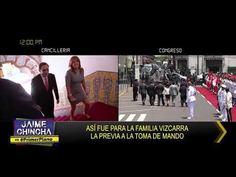 Primer Plano: ASÍ FUE PARA LA FAMILIA VIZCARRA LA PREVIA A LA TOMA DE MANDO - MAR 23 - 3/5 | Willax