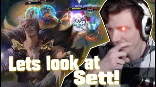 Hashinshin: First look at SETT! | Why is his JAX so TANKY???