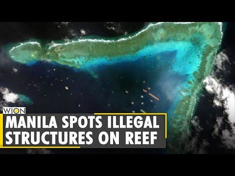 South China Sea Dispute: Philippine military spots 'illegal' structures on reef   English World News