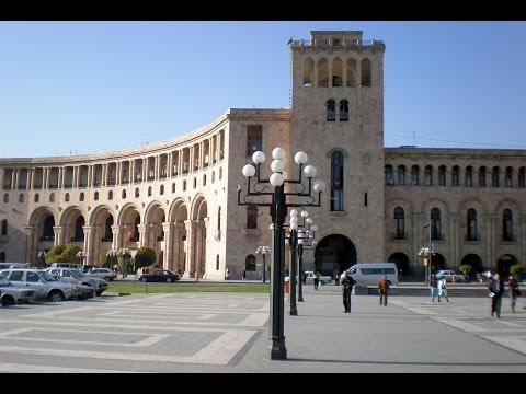 Republic Square, Yerevan, Armenia, Eurasia