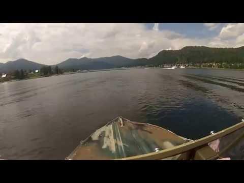 Путешествие на лодке с водометом р.Бия-оз.Телецкое-р.Чулышман-р.Чульча-Бийск