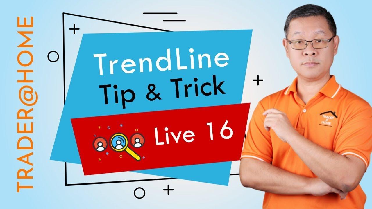 Forex สอน เทรด : 181 – Live 16 : TrendLine Tip & Trick