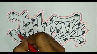 Trik cara membuat graffiti untuk pemula