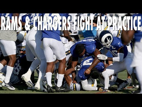 "Rams and Chargers Players ""Fight For L.A.""