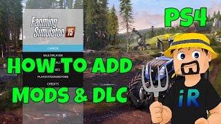 How to Add Mods and DLC | Farming Simulator 15 | PS4