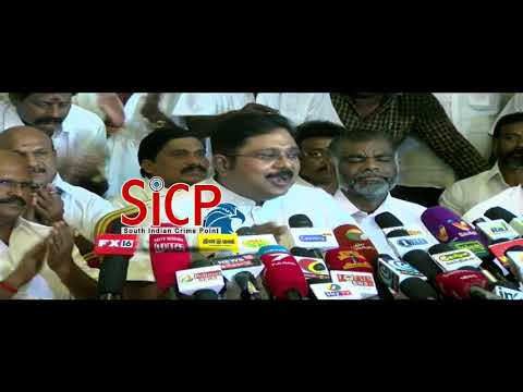 "TTV Dinakaran Says ""Not a new party, only a new name"""