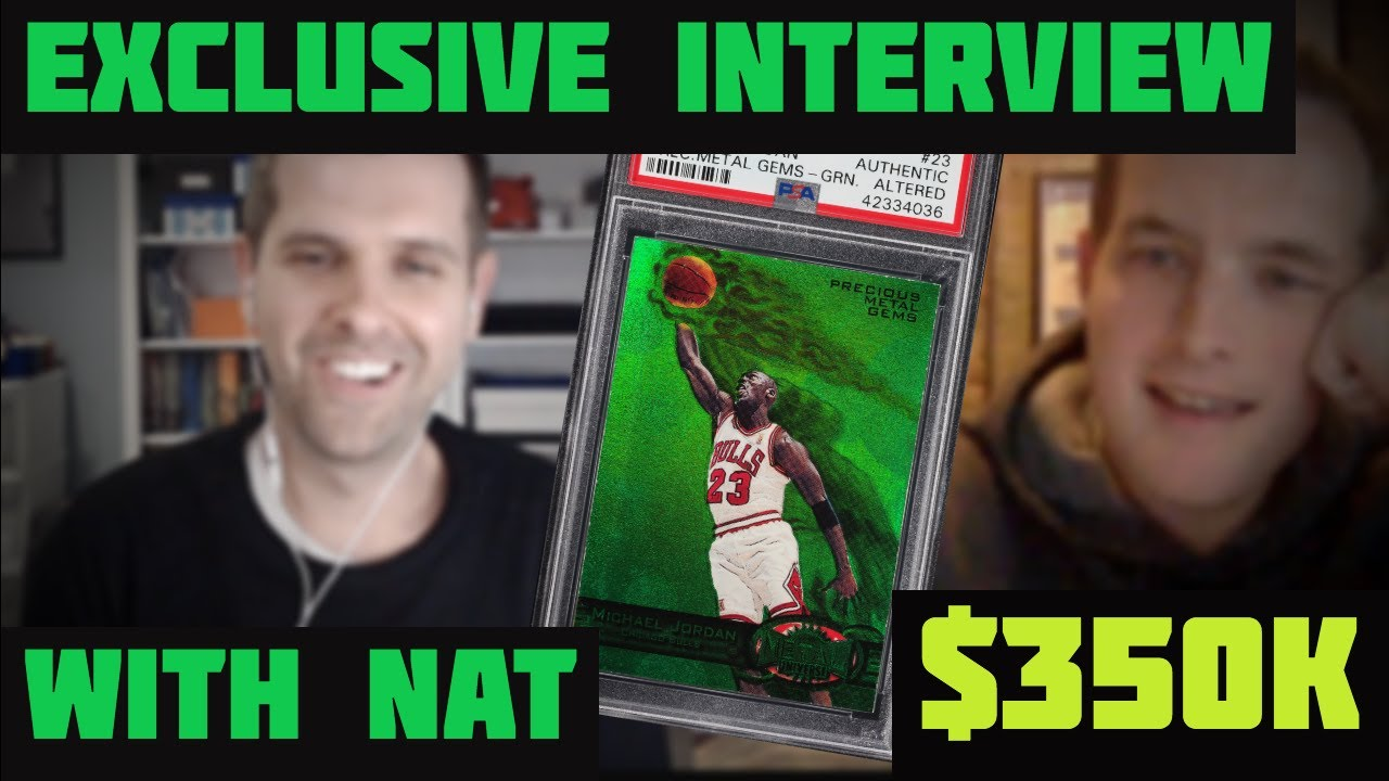 Most Expensive Michael Jordan Card Sold Exclusive Interview With The Owner