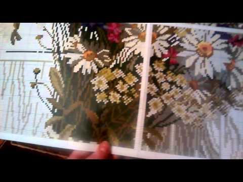 Вышивка риолис полевые цветы