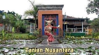 Tarian Nusantara Tari Piring, Merak , Kalimantan, Papua , Bali