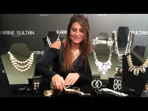 Karine Sultan French Fashion Jewelry Designer Paris - Los Angeles - Wholesale - Retail