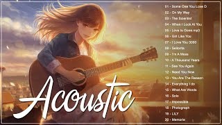 Acoustic Songs Cover 2021 - Greatest Hits Acoustic Cover Of Popular Love Songs 80s 90s Of All Time