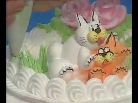 Hướng dẫn làm bánh sinh nhật - Phần 1