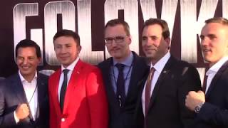 GENNADY GOLOVKIN & ACTOR MARIO LOPEZ MAKE TIME FOR THE FANS / CANELO v GGG / SUPREMACY