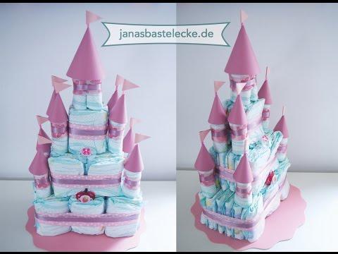 Kreativer Montag 91 - Prinzessinnenschloss Windeltorte