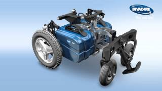 Invacare Fox power wheelchair.