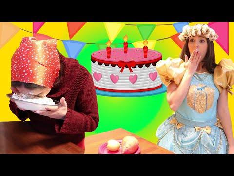 מסיבת יום הולדת מצחיקה 🍡🍧🌈 לנופיקי🍠🥔🥕 יוטיוברית לילדים birthday party for nofiki | kids video