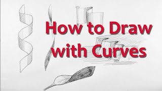 Drawing for Beginners: PART 1- Draw with Curves