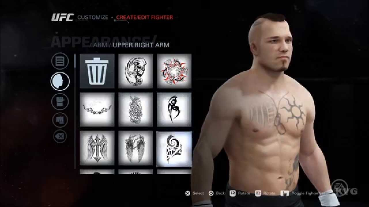 Ea Sports Ufc Create Customize Fighter Ps4 Hd 1080p Youtube Sony 2