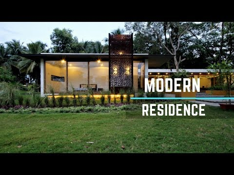 Modern Residence Designed on the Notions of Swastika