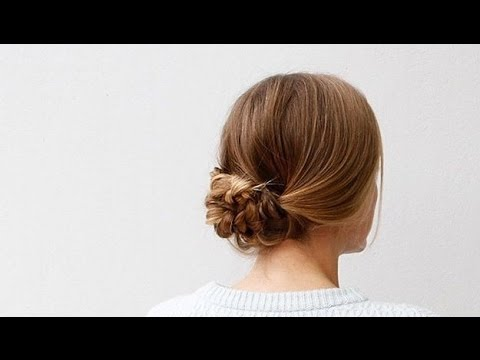 фото пучок из кос