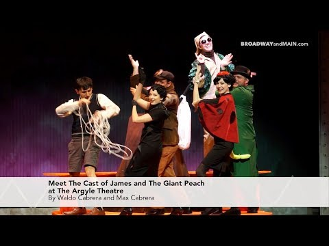 Meet the cast of James and the Giant Peach!