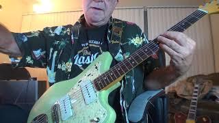 Fender Jazzmaster 1965 - Collage - 8 - 24 - 2017