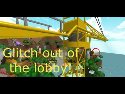 2019 March How To Glitch Out Of The Lobby In Roblox Deathrun