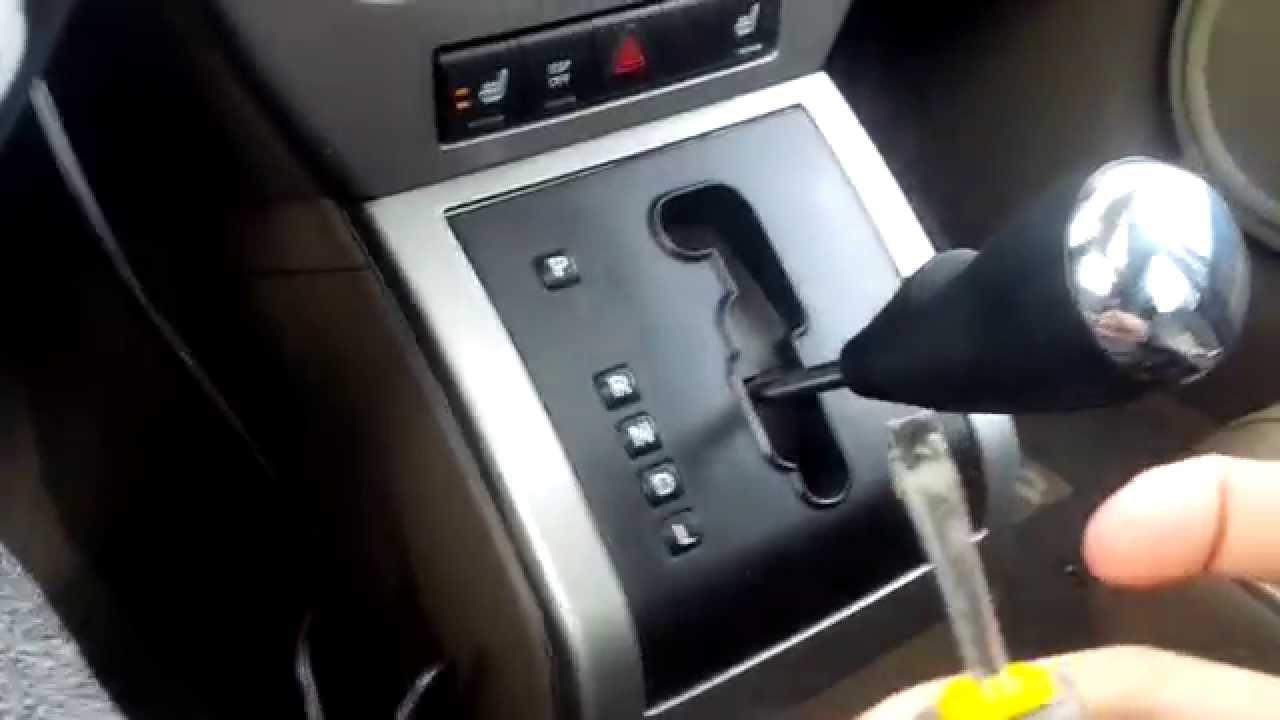 Triumph Stag Wiring Diagram Jeep Patriot Shift Knob Removal Youtube