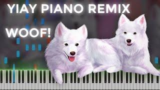 Jacksfilms · YIAY (Piano Remix) | LyricWulf Piano Tutorial